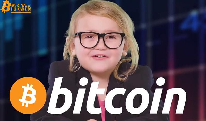 Bé 3 tuổi 'gây bão' khi giải thích về Bitcoin bằng kẹo