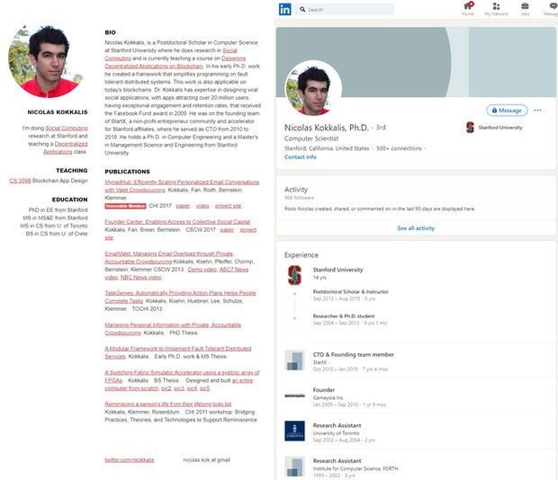 Cả hồ sơ trên LinkedIn và trên trường Stanford của ông Kokkalis đều không nhắc đến Pi Network.