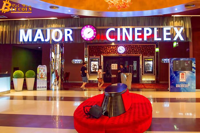 Chuỗi rạp chiếu phim lớn nhất Thái Lan chấp nhận Bitcoin