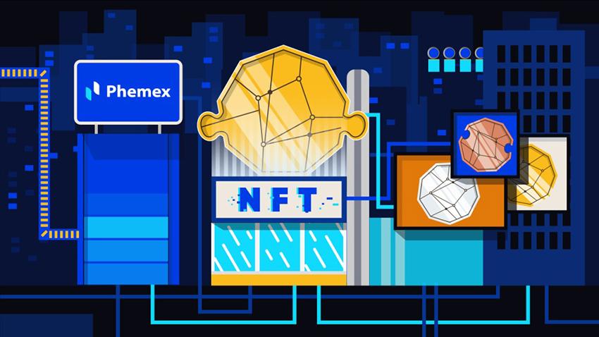 Một số người xem NFT là dạng bong bóng đầu cơ, trong tương lai sẽ nổ tung. Ảnh: Phemex.