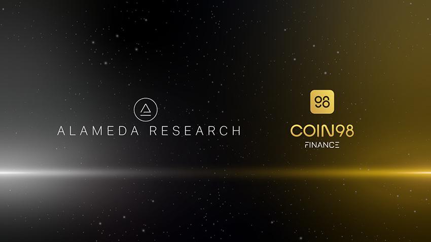 Coin98 Finance nhận đầu tư 4 triệu USD từ Alameda Research