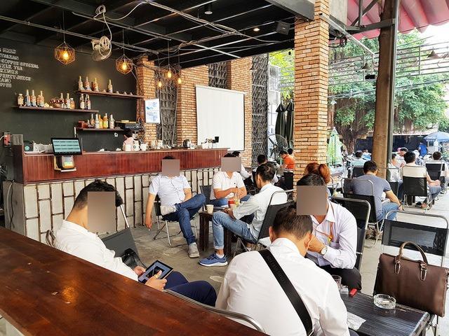 Một điểm giao dịch Bitcoin tại TP Hồ Chí Minh. (Ảnh: Dân trí)