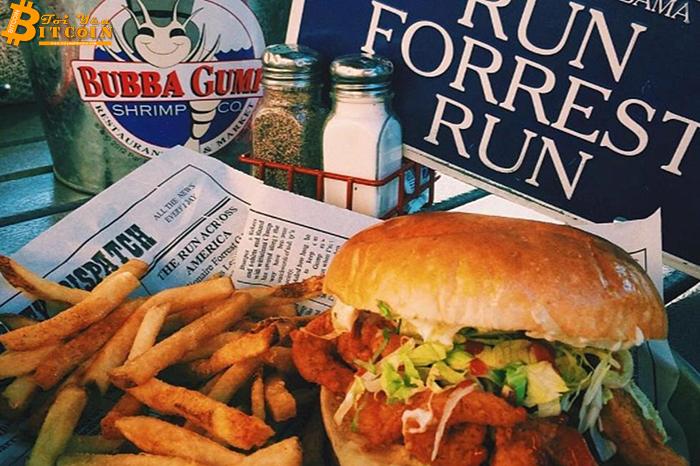 Chuỗi nhà hàng Bubba Gump Shrimp chấp nhận thanh toán Bitcoin