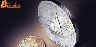 Khối lượng giao dịch on-chain của Ethereum vượt qua Bitcoin
