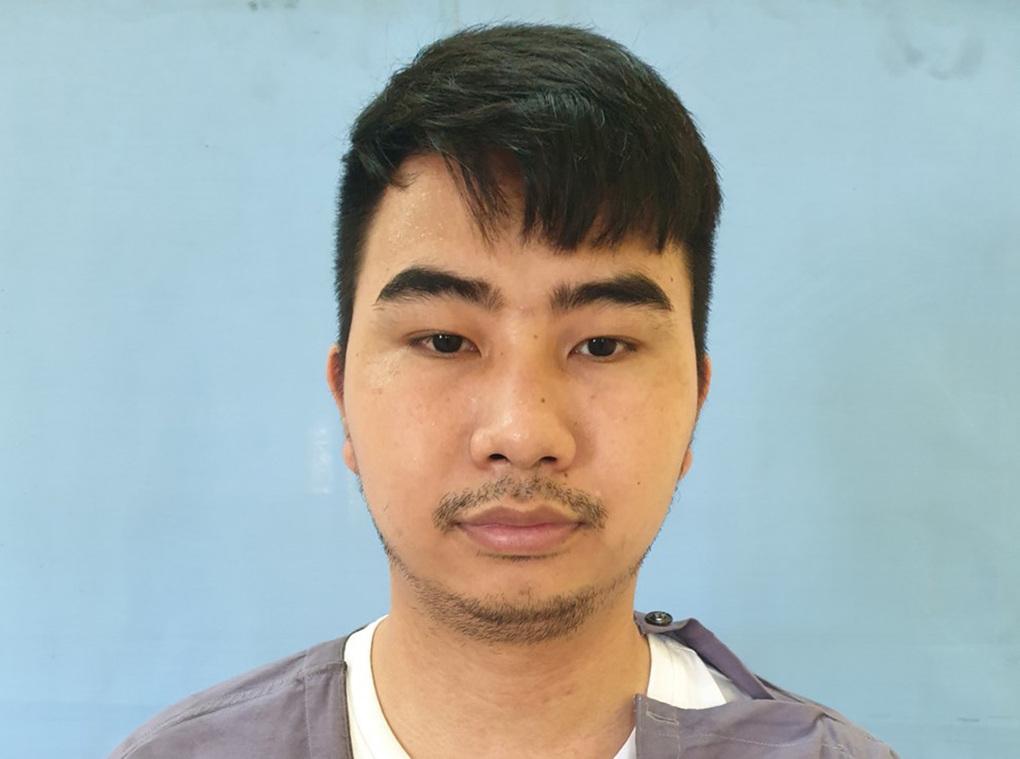 Nghi can Nguyễn Thế Dương quản lý, điều hành hoạt động của sàn Hitoption. Ảnh: Công an cung cấp
