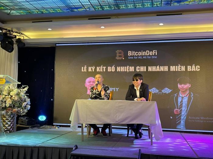 Tại sự kiện, Phạm Tuấn khẳng định BitcoinDefi đạt mốc 100 USD là điều dễ dàng.