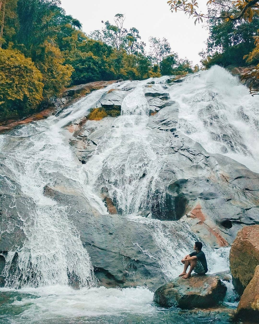80+ Gambar Air Terjun Bayang Sani Kekinian
