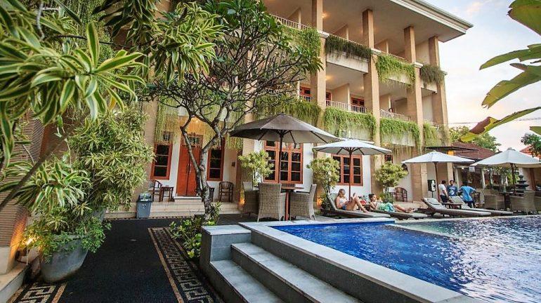 Hanya 100 Ribuan Hotel Murah Di Kuta Bali Dengan Kolam
