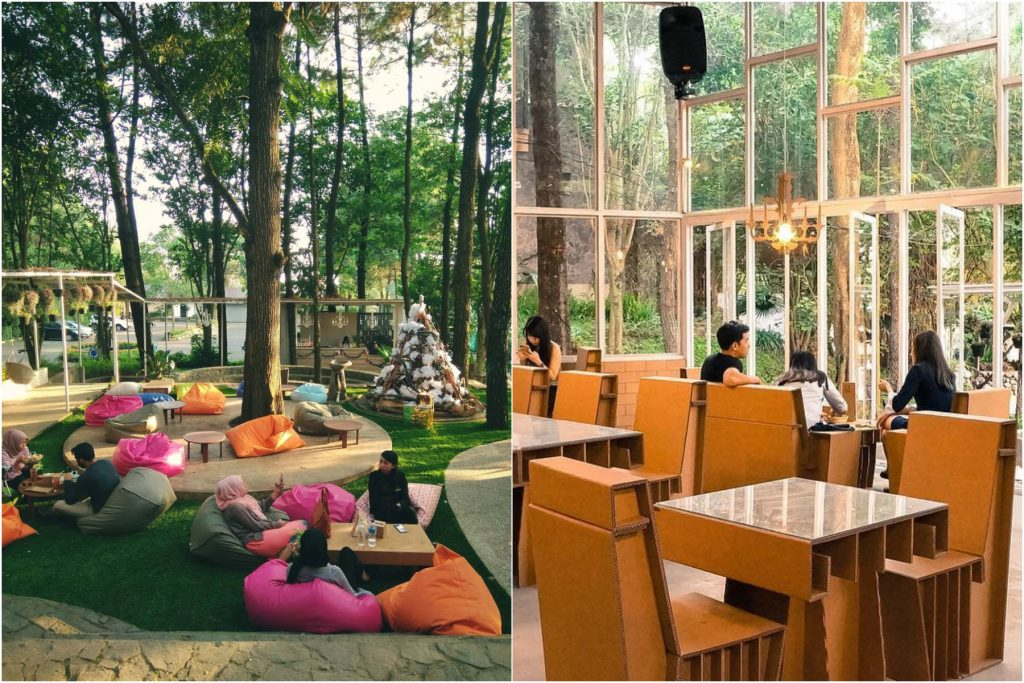 Cafe Taman Kardus Lembang
