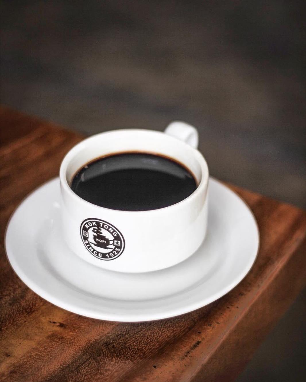 Kualitas kopi di Kedai Massa Kok Tong