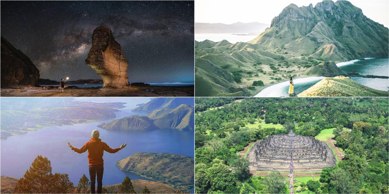 Inilah 7 Destinasi Wisata Super Prioritas Indonesia Yang Harus