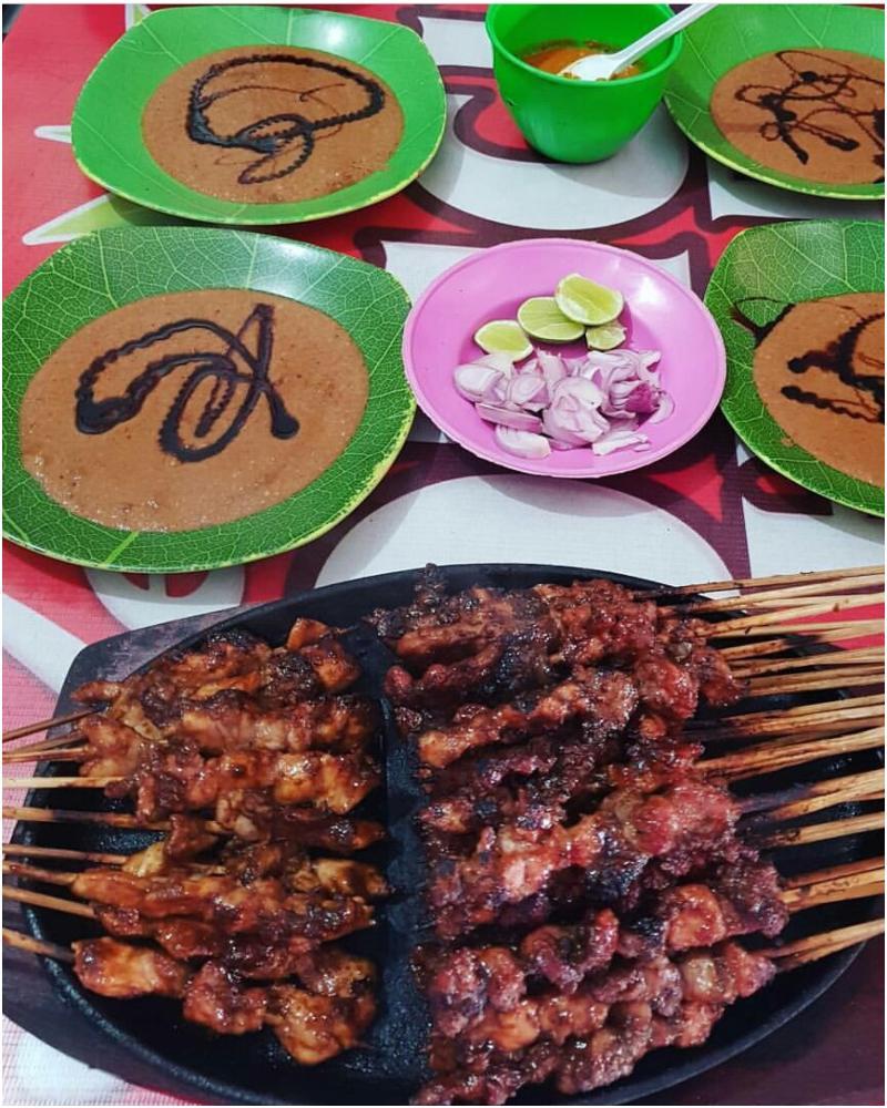 Makanan khas Malang - sate kelinci
