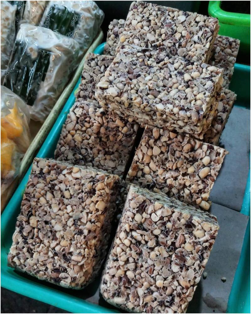 Makanan khas Malang - Tempe bungkil