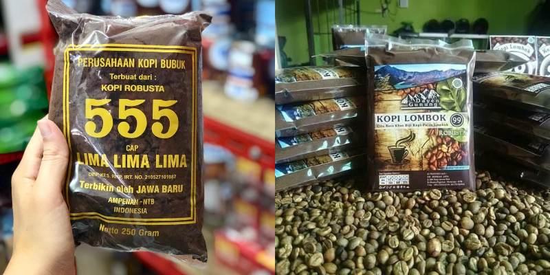 Oleh oleh khas Lombok - kopi