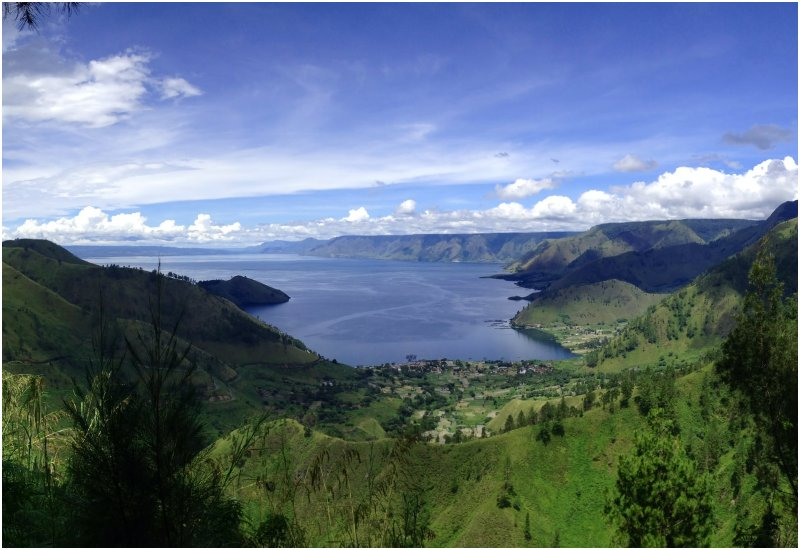 unesco global geopark indonesia