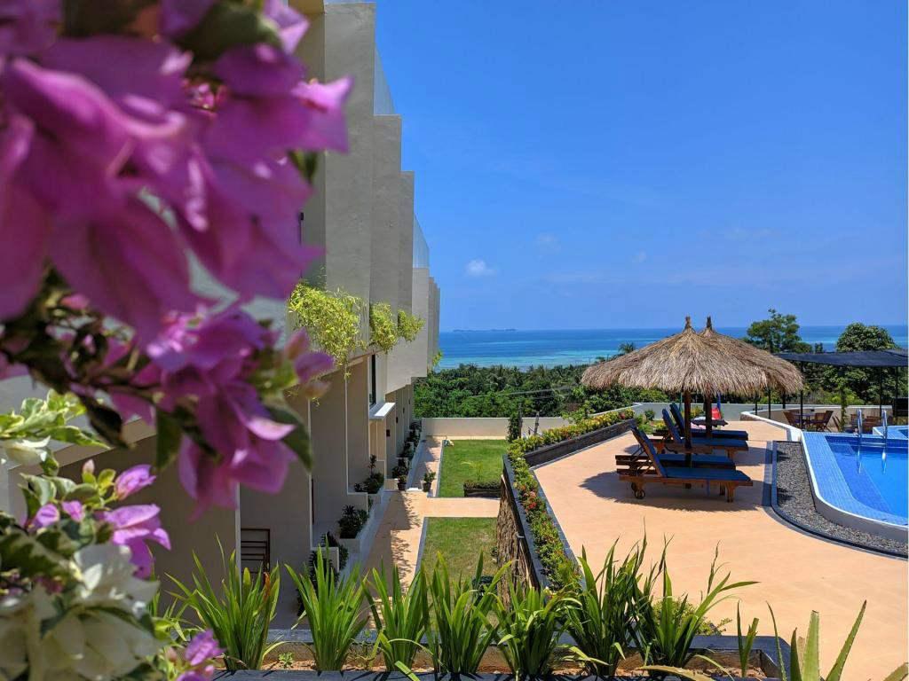 hotel di karimunjawa dengan pemandangan laut