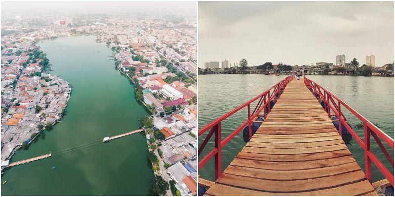 Situ Rawa Besar Lio   tempat wisata alam depok
