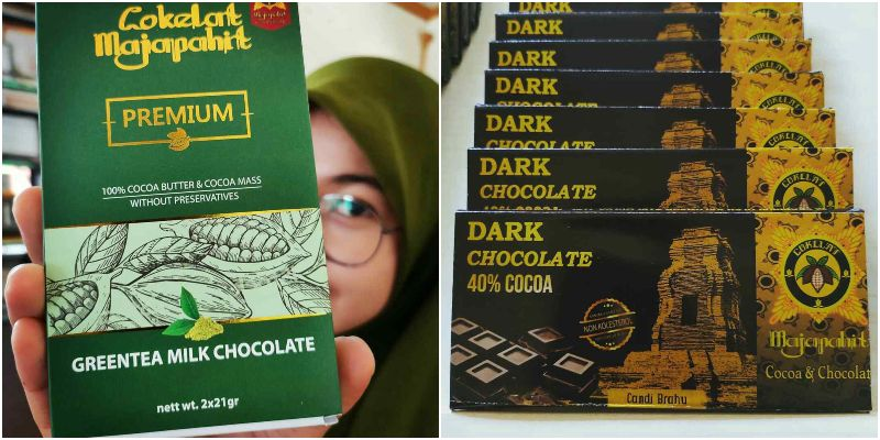 Cokelat Majapahit   buatan indonesia