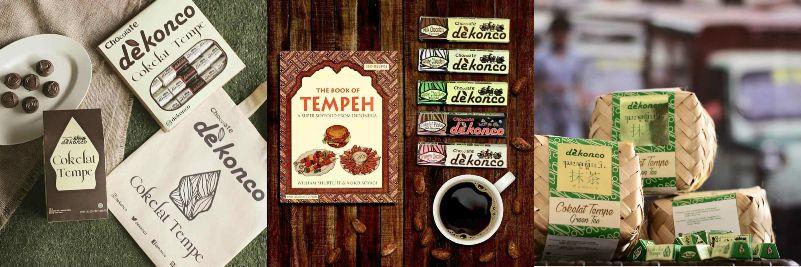 Dekonco Cokelat Tempe   cokelat buatan indonesia