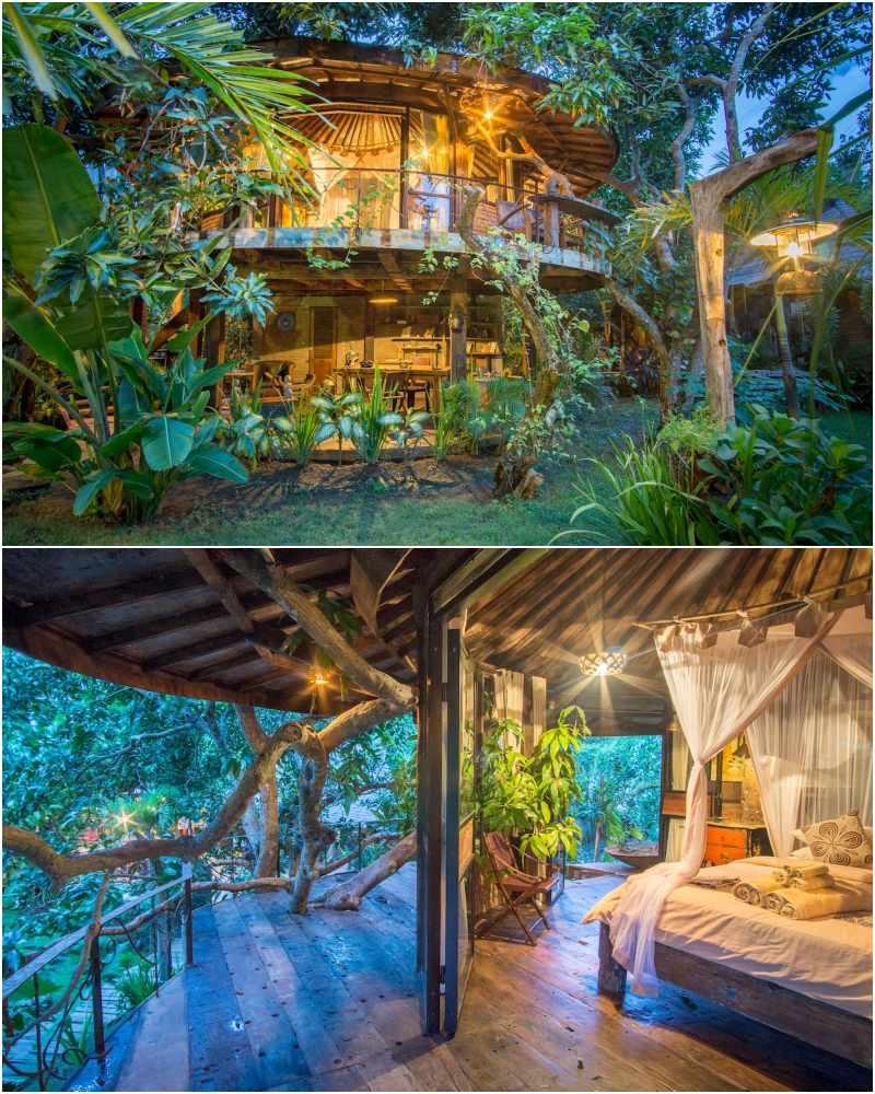Treehouse diselenggarakan oleh Jing, Wayana + Bukit Vista Host   rumah pohon di bali