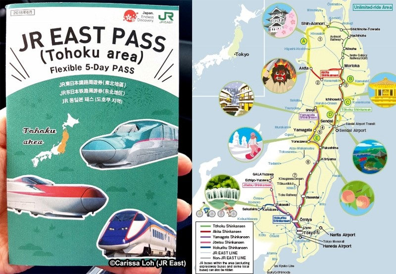 JR EAST PASS (area Tohoku)