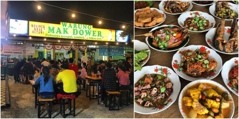 Warung Mak Dower | restoran betawi di Jakarta
