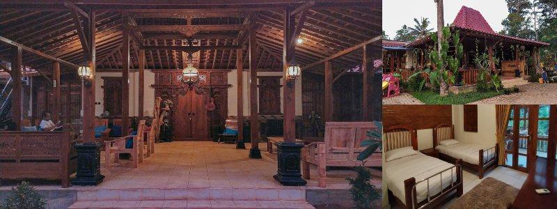 Villa Opa Doel | rumah jawa di jogja