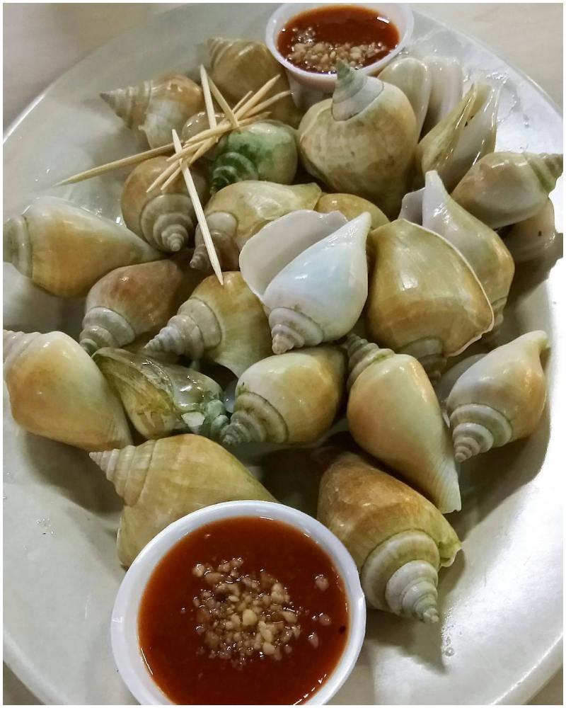Gonggong | makanan khas Batam