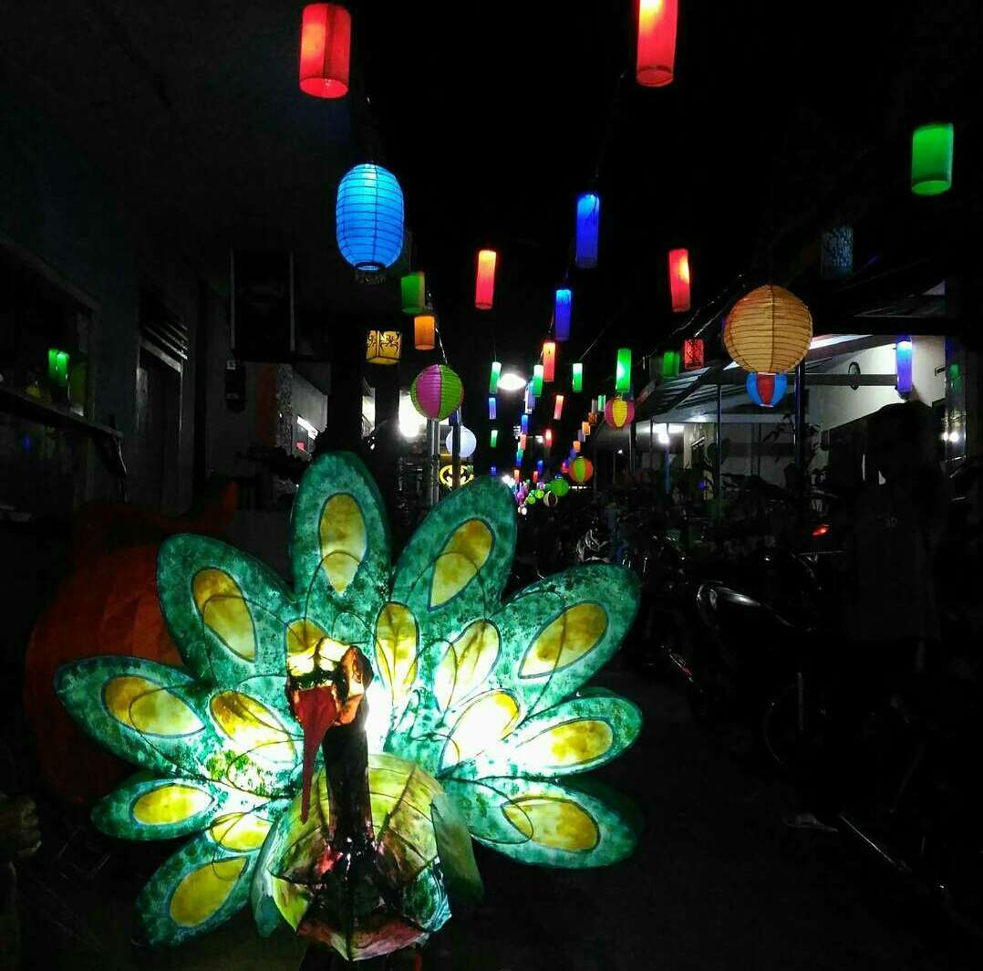 Kampung Lampion Wangi