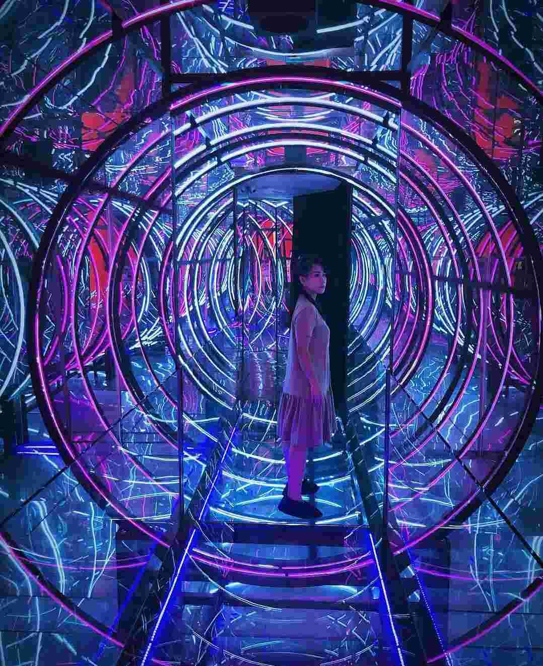 Infinity World | wisata malam malang