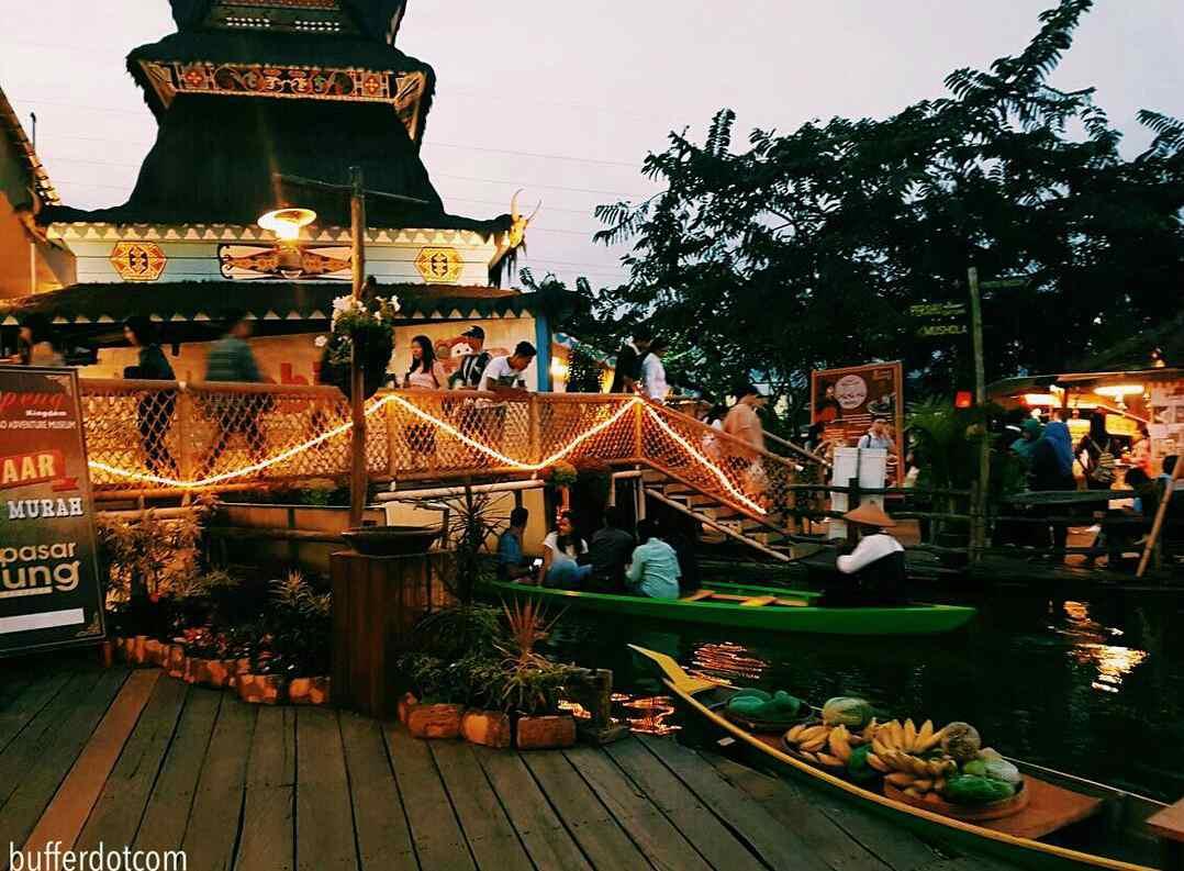 Taman Apung Nusantara | wisata malam malang