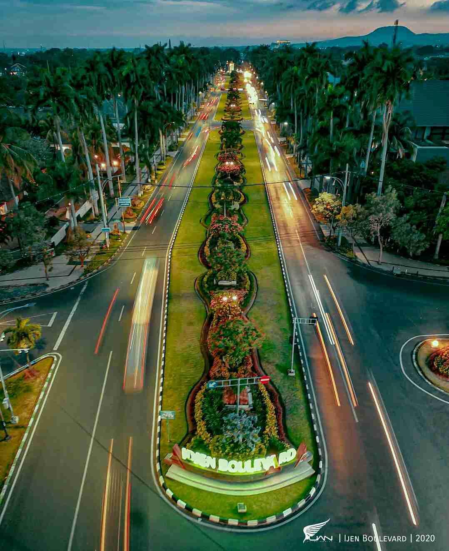 Idjen Boulevard | wisata malam malang