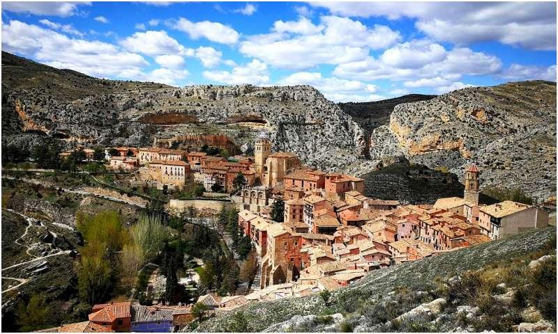 Albarricin, tempat tersembunyi di spanyol