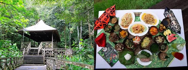 Sarawak Cultural Village | tempat wisata di Kuching