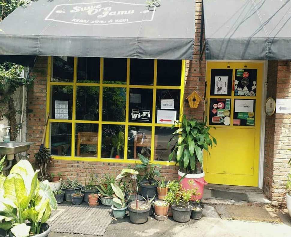 Suwe Ora Jamu | kafe jamu di jakarta