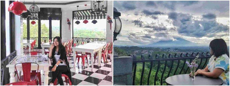 Aurora Mansion | kafe bogor view gunung