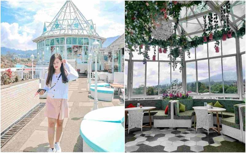 Nicole's Kitchen & Lounge | kafe bogor view gunung
