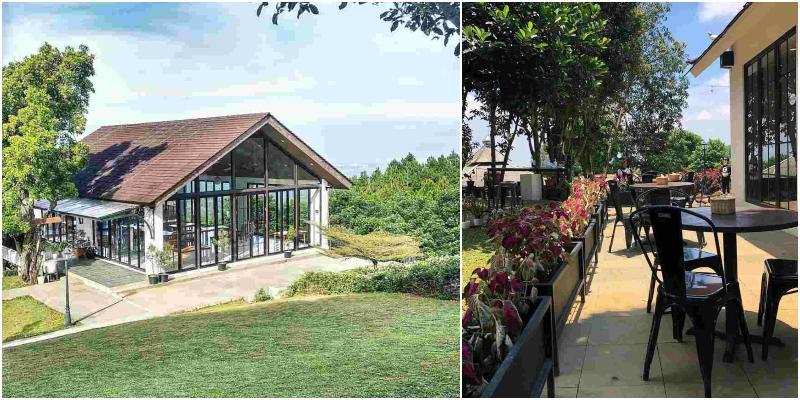 Richie's Garden Resto & Cafe | kafe bogor view gunung