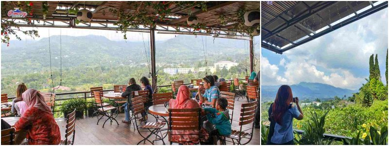 Cimory Mount View Resto & Fresh Milk | kafe bogor view gunung