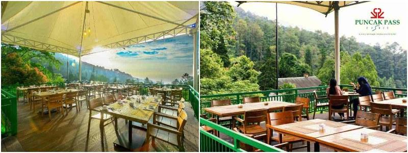 Mahoni Garden Resto | kafe view gunung bogor