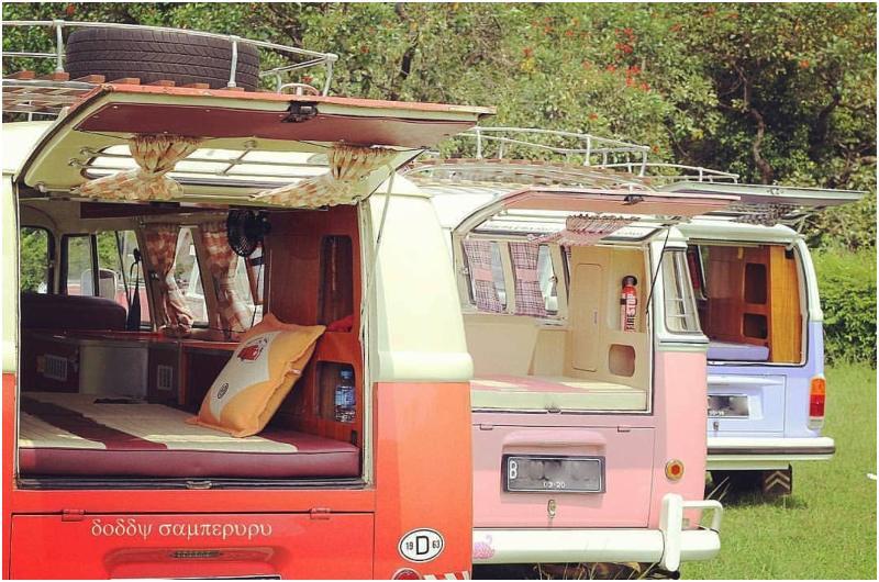 Jakarta VW Campervan di Indonesia
