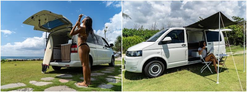 Biggie   campervan di Bali Indonesia