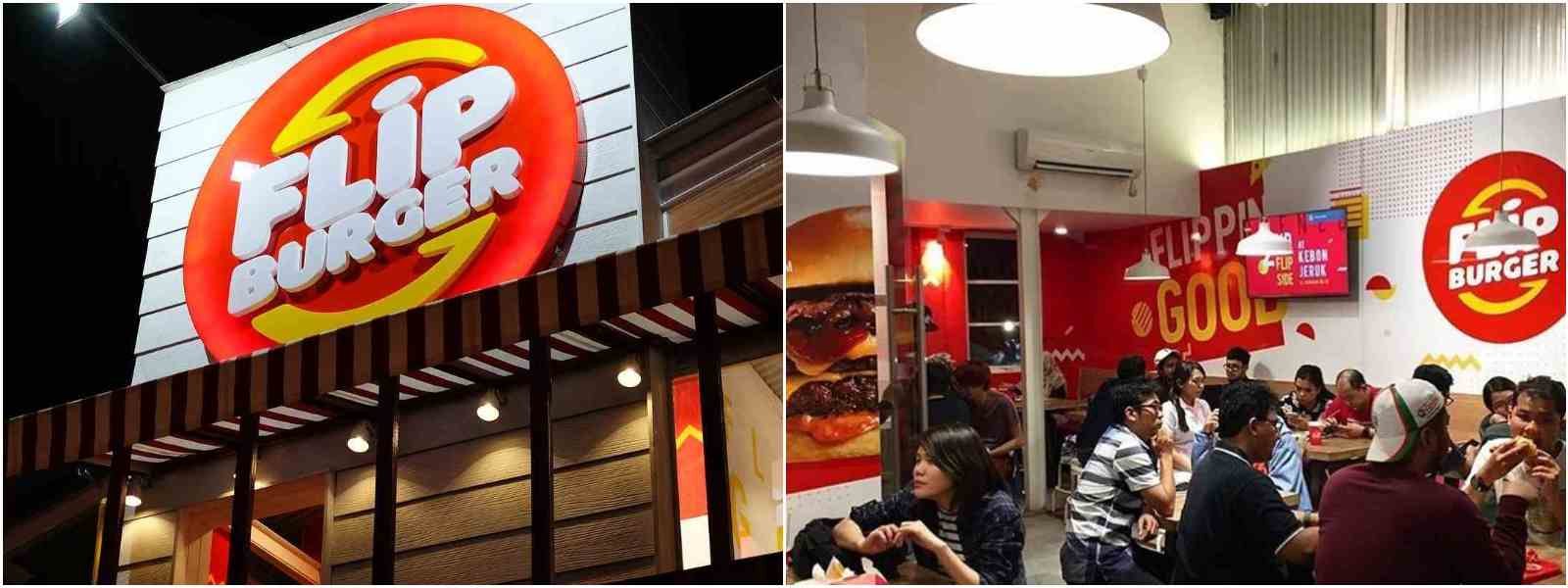 Flip Burger | restoran burger di jakarta