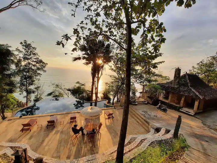 airbnb jogja view alam