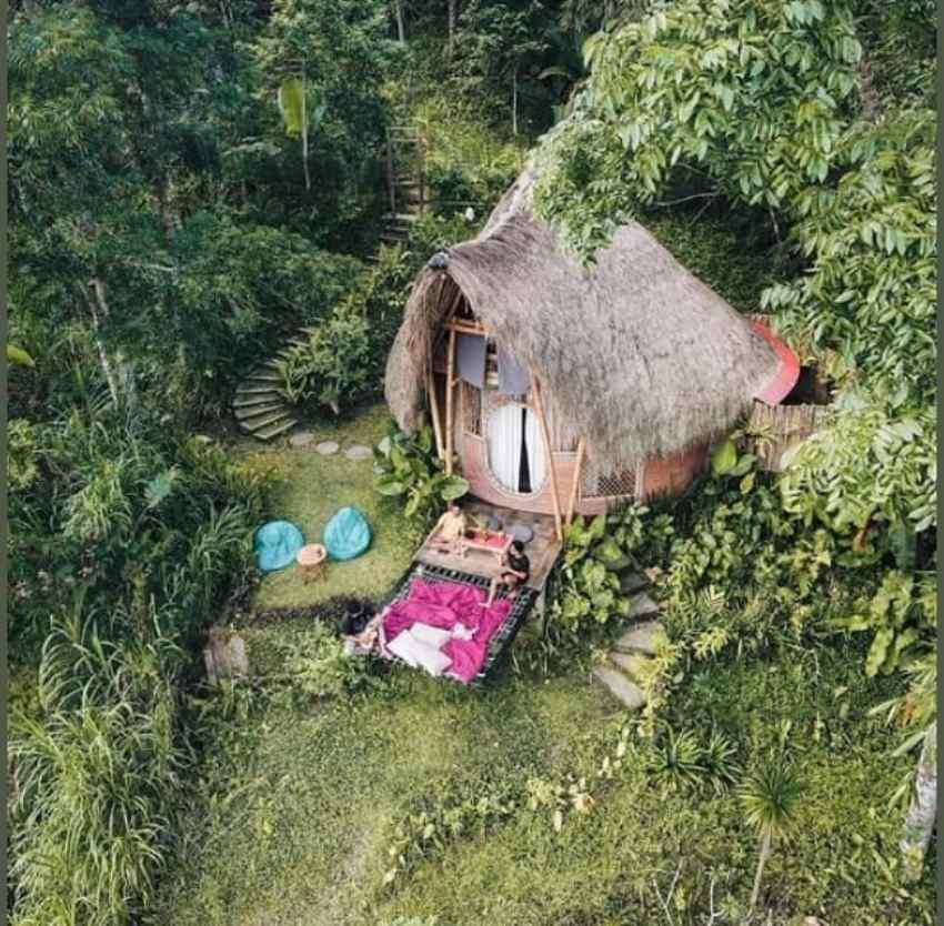 airbnb bali bernuansa alam