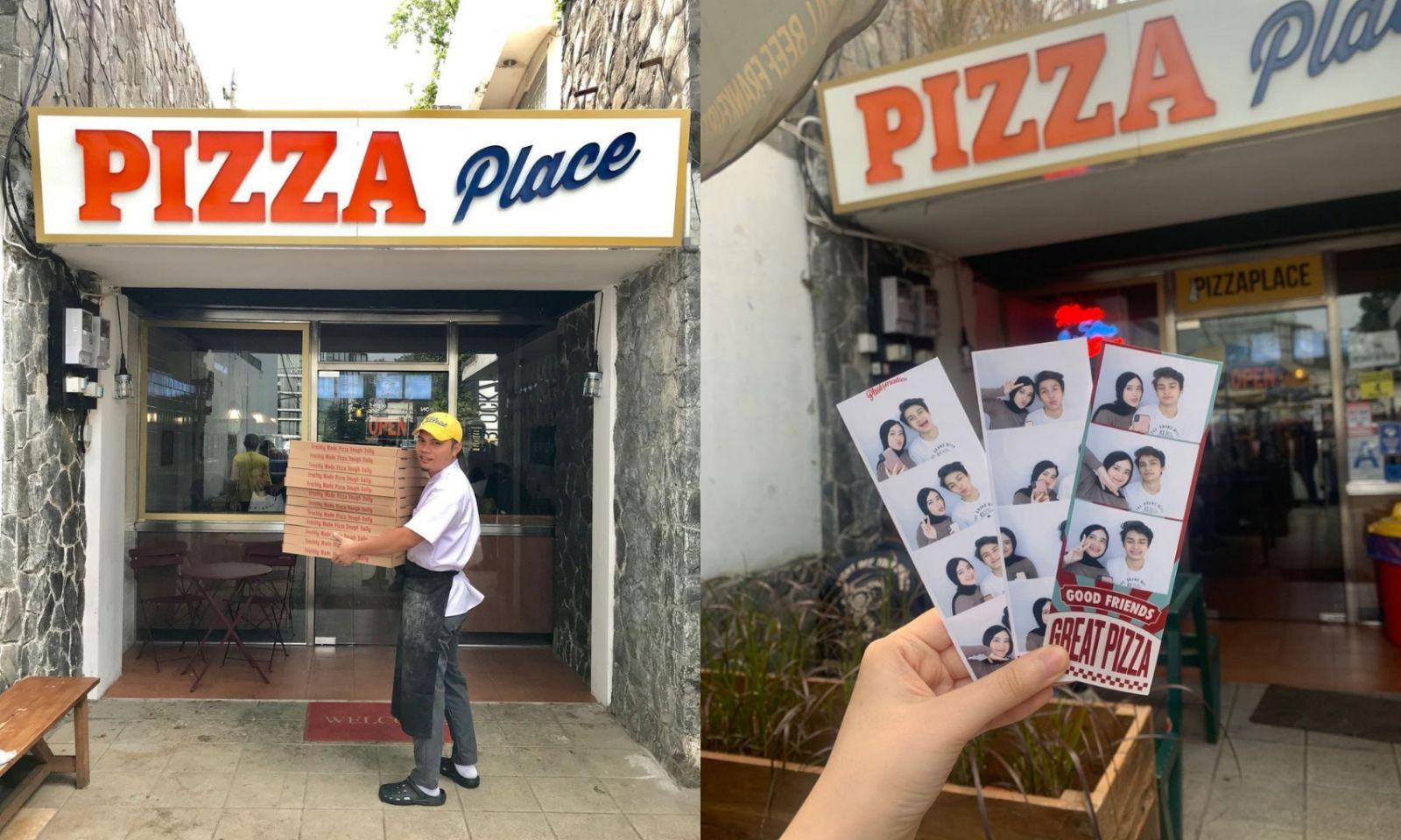 Pizza Place Dago - Photobooth Photobox Kekinian Di Jakarta Dan Bandung