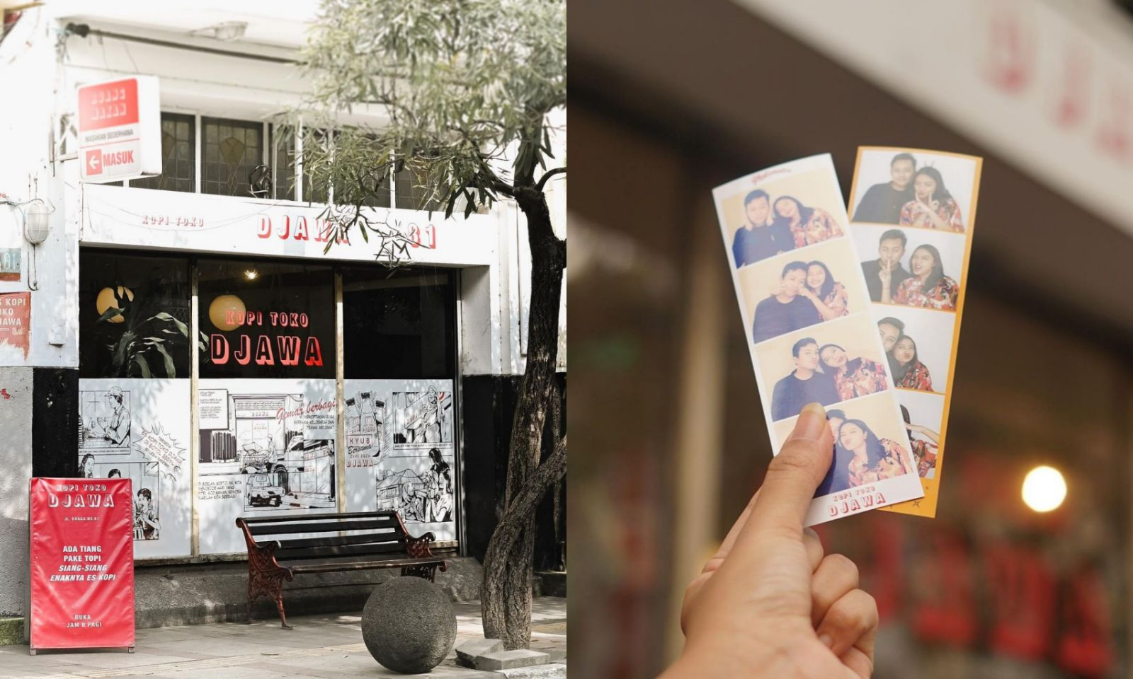 Kopi Toko Djawa, Braga - Photobooth Photobox Kekinian Di Jakarta Dan Bandung