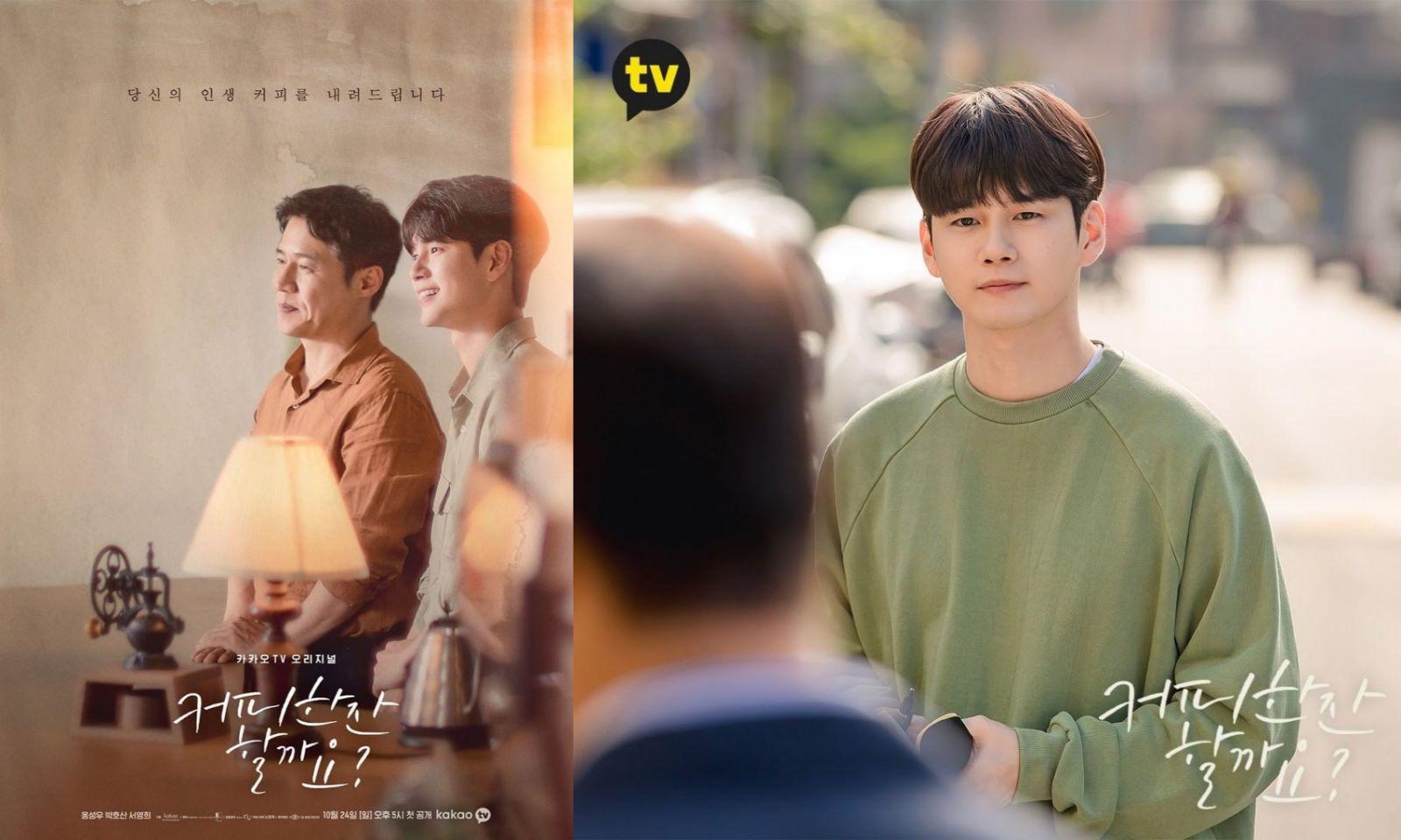 Drama Korea Oktober 2021 - Shall We Have a Cup of Cofffee?