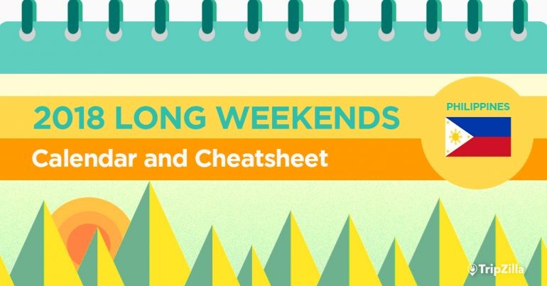 13 Long Weekends In The Philippines In 2018