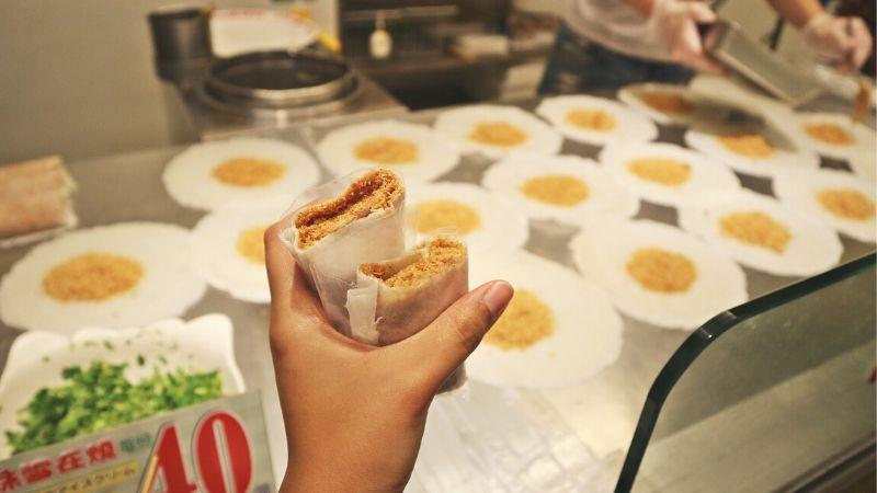 taiwanese food to try: peanut ice cream